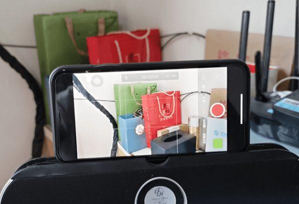 制作透明手机屏幕方法-拍摄一个固定镜头视频