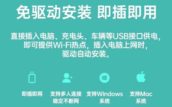 好物分享:超大流量智能UFI随身WIFI设备